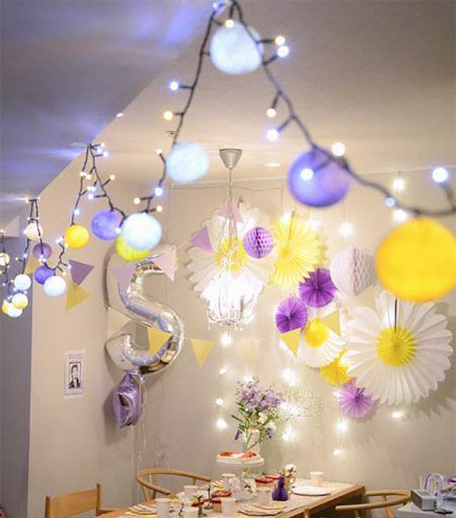 decoracion para fiesta en casa