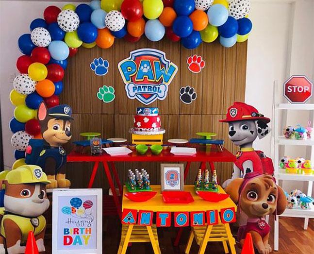 decoracion cumpleaños mascotas