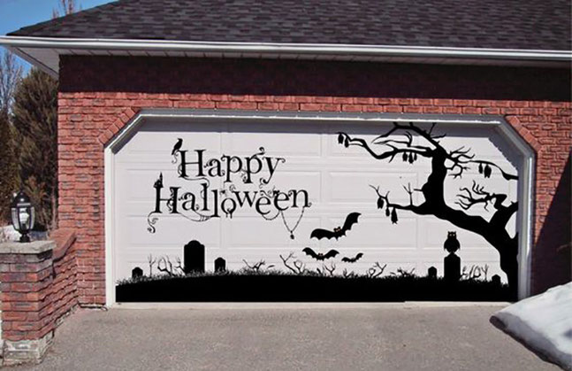ideas para decoracion exterior de halloween