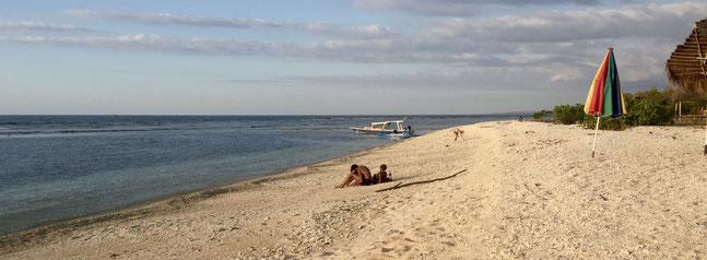 Bild: Der Strand von Meno