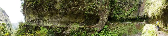 Bild: Panaromabild unseres Wanderweges