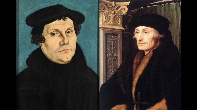 """Lo scontro tra Lutero ed Erasmo sul """"libero"""" o """"servo"""" arbitrio ha segnato profondamente la moderna cultura europea"""