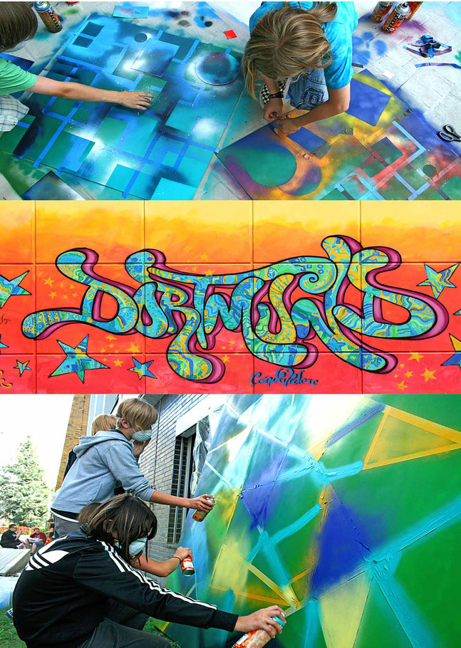Graffiti und Street Art Events für Feste und Veranstaltungen