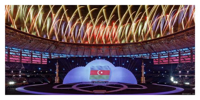 islamic games opening ceremony  baku.AZ // photo and copyright by manfred h. vogel / mhvogel.de