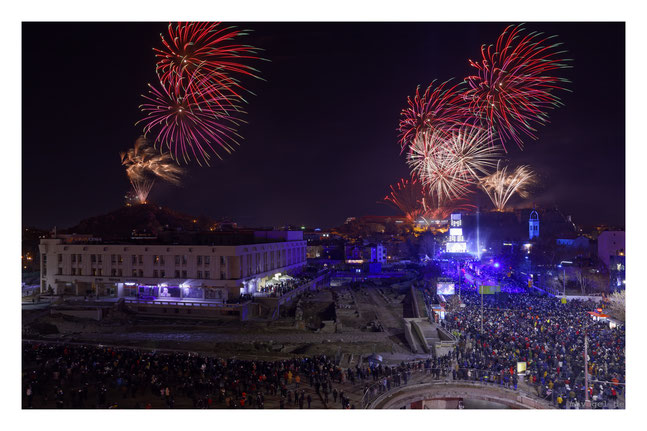 opening european cultural capital 2019 / plovdiv.BG / creative concept by phase7.de // photo and copyright by manfred h. vogel / mhvogel.de