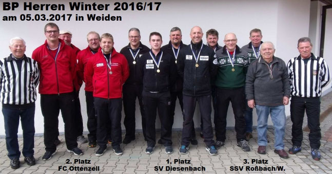 Bezirkspokal Herren Winter 2016/17