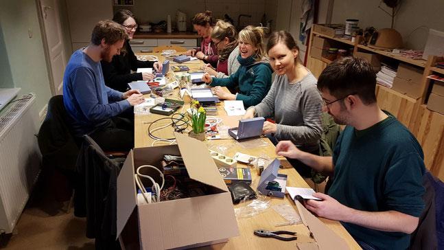 Workshop Fledermaus-Empfänger - Foto: Frank Pliquett