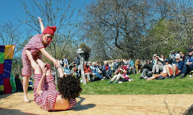 Tanz- und Filzfest, Heidekaten  Foto: Ina Schwarz