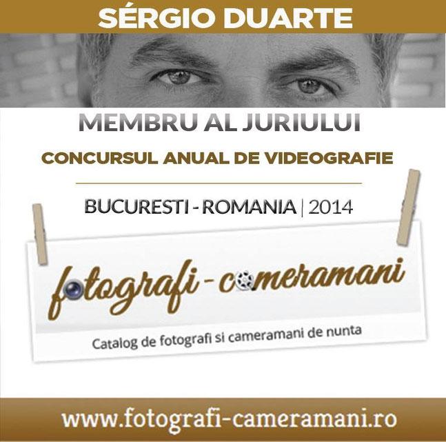 Sergio Duarte Júri Juiz em Concurso na Roménia