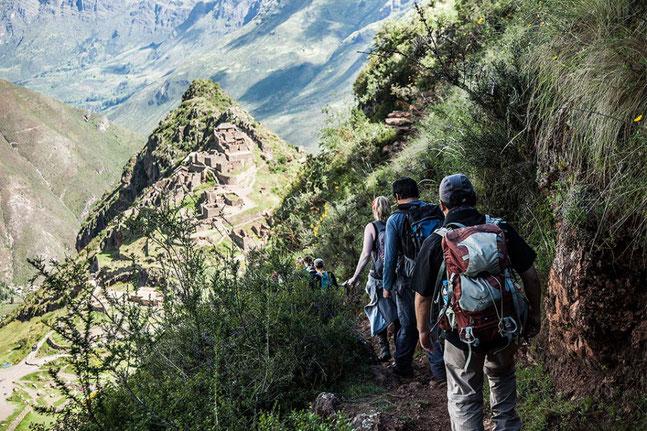 PERUline bietet den Lares Trek als Wanderreise in Peru