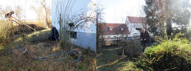 Ghölzpflege Vereinshaus. Foto: K-H Kuhn