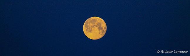 Supermond, Blue Moon im Westerwald