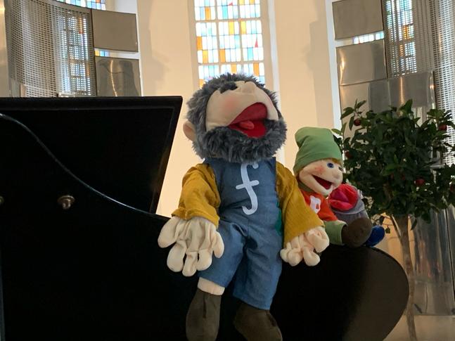 Forte, Piano und Gustav