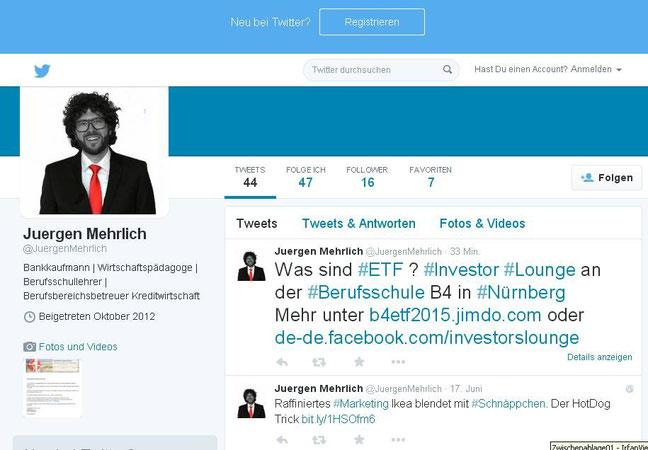 Auch Herr Mehrlich unterstützt uns (Twitter-Meldung vom 07.07.2015)