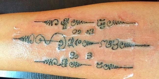 Sak Yant Tattoo
