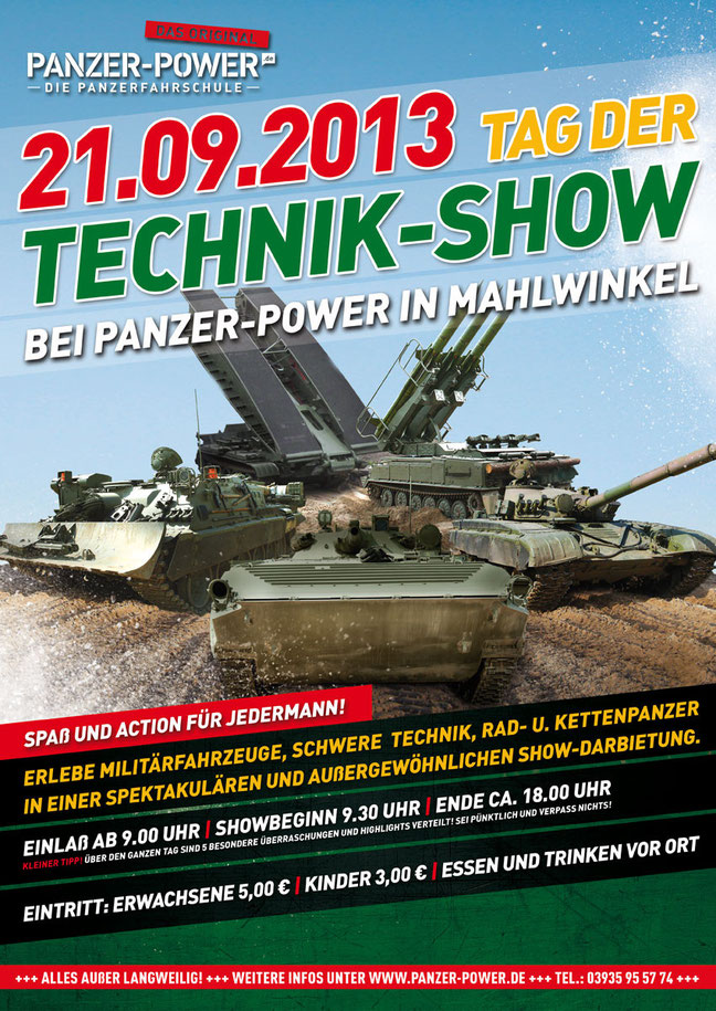 21.09.2013-Plakat-Tag-der-Technik-Show-bei-Panzer-Power