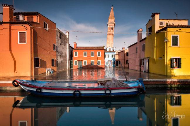 Venedig / Venezia, Burano, Langzeitbelichtung, 2017, © Silly Photography