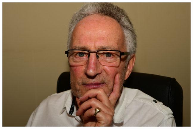 Auteur van het boek 'Van Zandkliever tot Zandkoning' Leopold Nouwen.