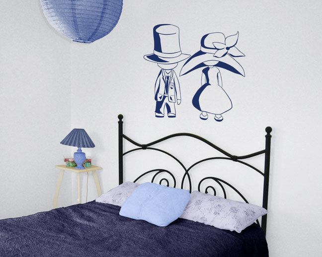 Hot Air Balloon vinyl wall art sticker