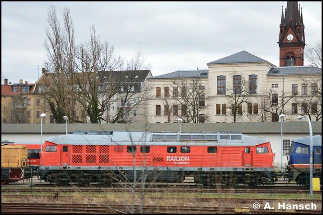 232 904-3 gehört der LEG und dient als Ersatzteilspender. Am 29. Januar 2018 gelang in Leipzig-Süd zumindest ein Notschuss auf die Lok