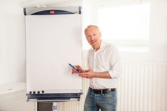 Schreibtraining mit Volker Bormann im Kommunikationskontor Hamburg