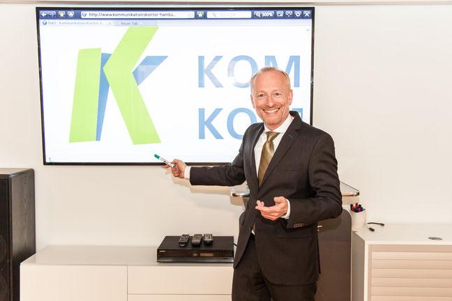 Präsentationstraining mit Volker Bormann im Kommunikationskontor Hamburg