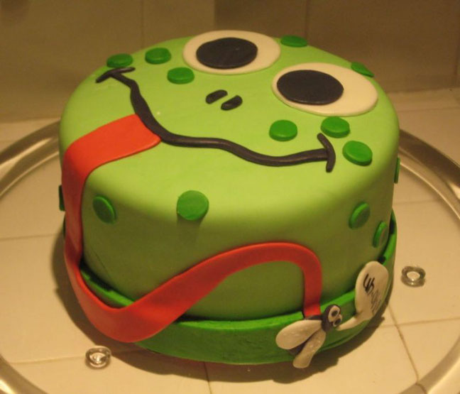 How To Make A Frog Cake Let Think Some New Ideas