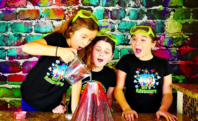 kids learning videos, science experiments for kids, volcano science experiment
