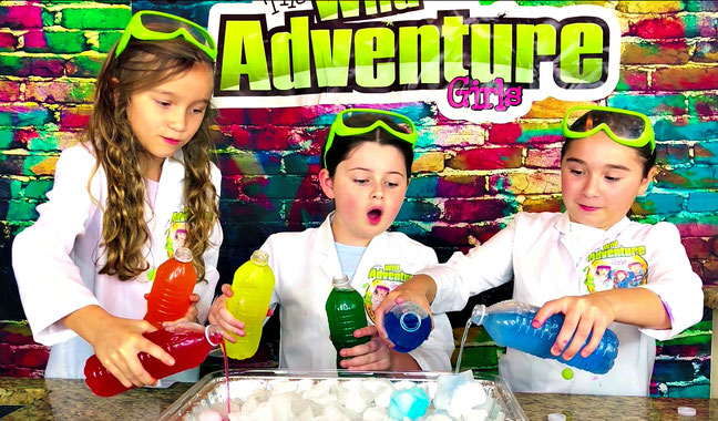 science experiments for kids, the wild adventure girls