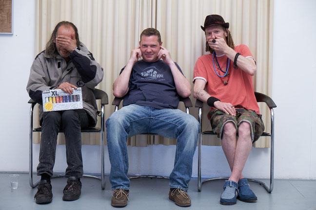Die drei Affen...