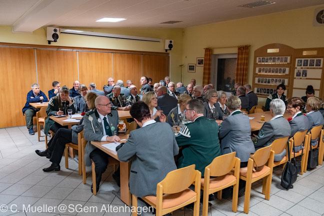 Gesamtvorstand der Schützengemeinschaft Altenhagen