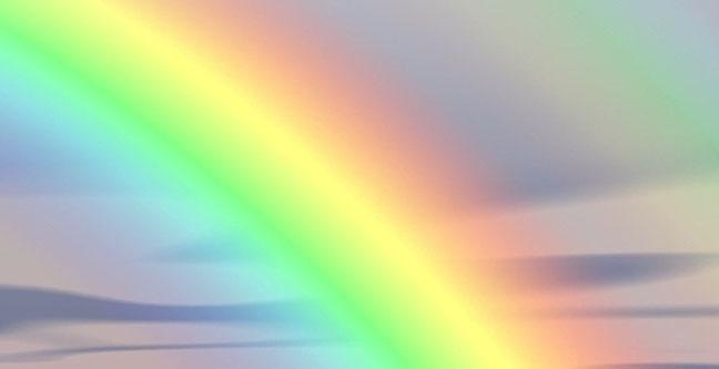 Regenbogenfarben, Aurafarben