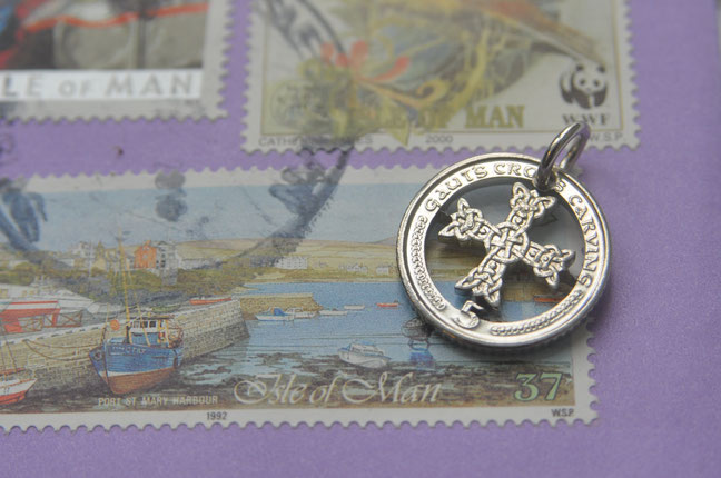 Münzsägewerk Katrin Thull | Isle of Man - Kreuz