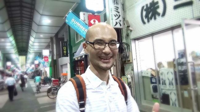 佐竹商店街で撮影