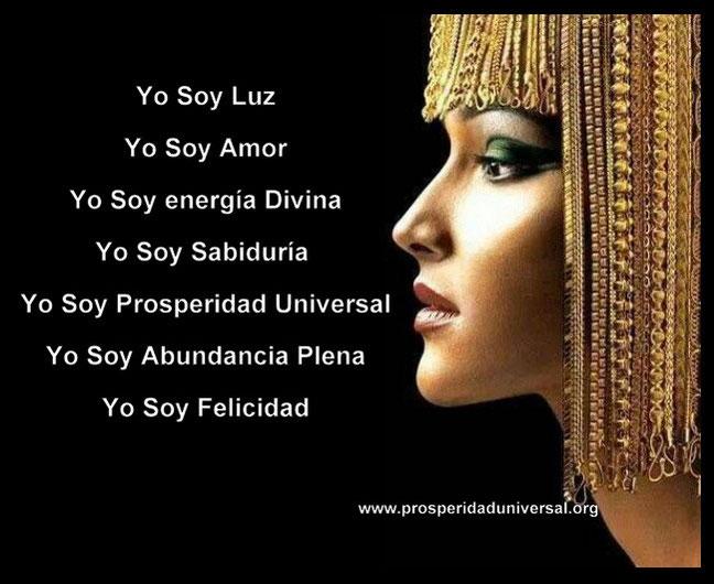YO SOY PROSPERIDAD UNIVERSAL- DECRETA LO QUE TU ERES - PROSPERIDAD UNIVERSAL- DECRETOS PODEROSOS- ALQUIMIA DE PROSPERIDAD- www.prosperidaduniversal.org