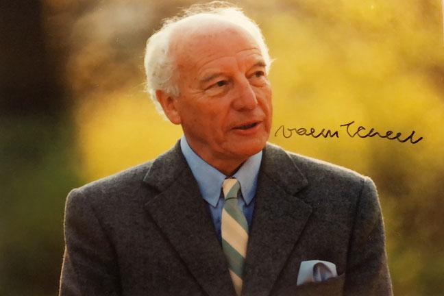 Autograph Walter Scheel Autogramm