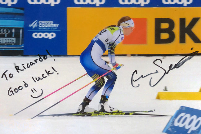 Uatograph Evelina Settlin Autogramm