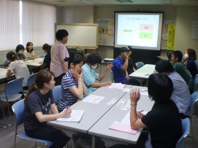 相田先生の講義はいつも「明るく」「楽しく」「前向き」です。今日もしっかりと胸に刻みました!