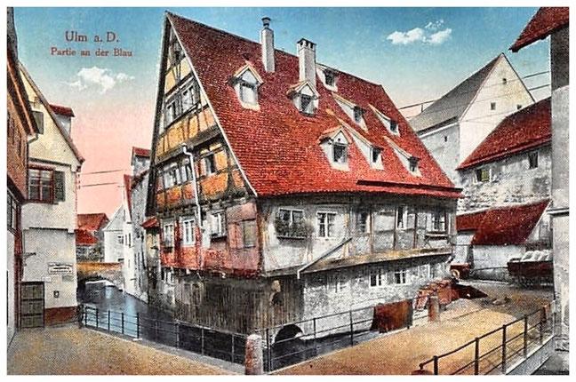 Das schiefe Haus von Ulm