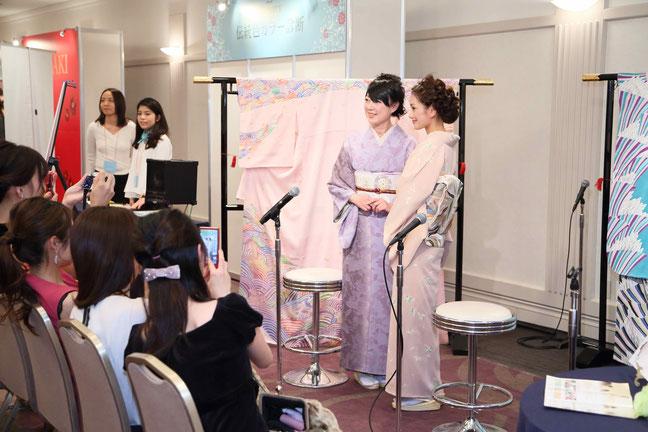 色彩心理カウンセラー桜井まどか・伝統色診断トークショー