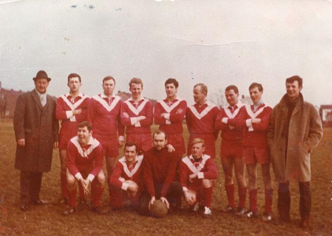 1.Spiel Fußballmannschaft 1968