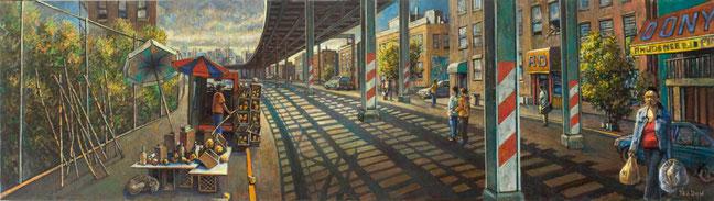 """Mango Vendor"" Panel by Daniel Hauben"