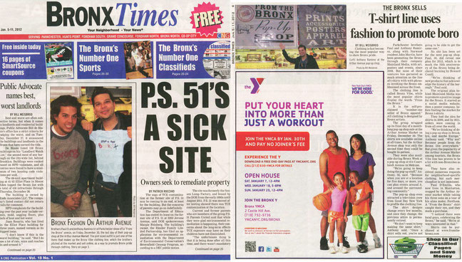 The Bronx Sells by Bill Weisbrod - The Bronx Times December 2012
