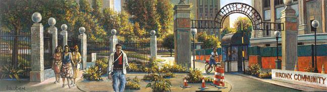 """BCC North Entrance"" by Daniel Hauben"