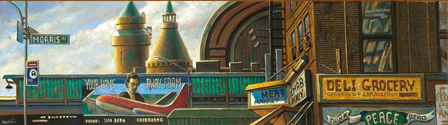 """The Kingsbridge Armory"" Panel by Daniel Hauben"