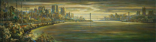 """Hudson River"" by Daniel Hauben"
