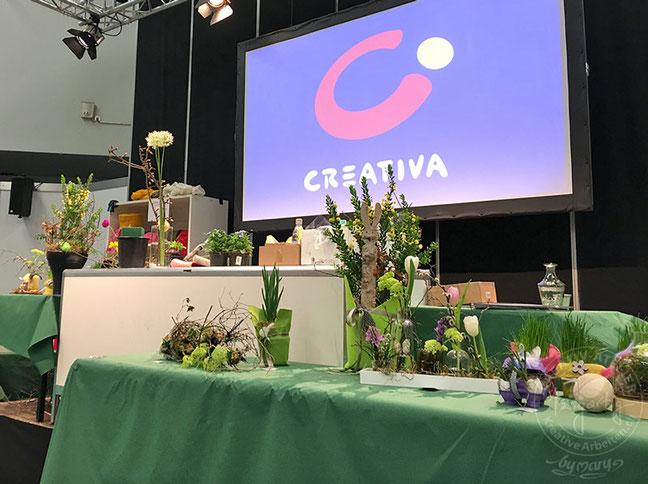 Creativa Dortmund mit blumigen Ideen für Osterdekorationen