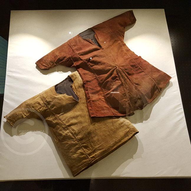 Abiti delle mummie maronite - Museo Nazionale di Beirut