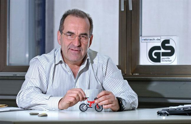Ernst Brust, Gründer und Geschäftsführer von Velotech.de