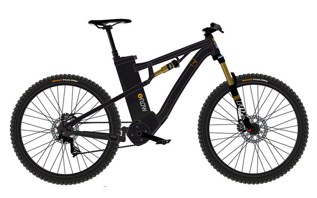 Continental liefert das Antriebssystem für das neue eBike-Modell CM2 / CM2 FS, welches flexibel an die Wünsche des Fahrradherstellers eFlow angepasst wurde © eFlow Europe GmbH